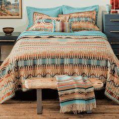Quill Basket Blanket - King