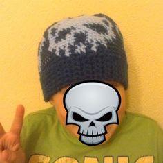 Skull Beanie für coole Jungs