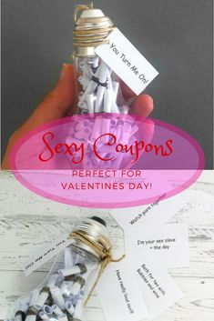 Naughty valentine coupons adult