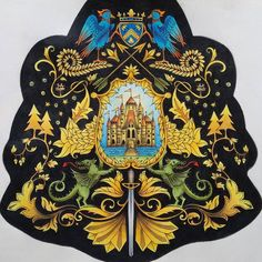 Coat of arms enchanted forest