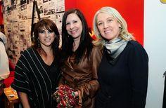 Encontros.  Eleone Prestes, Giovanna Toffanello e Marilene Bitencourt.