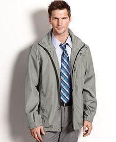 Calvin Klein Coat, Wind and Water Resistant 3 Seasons Coat - Coats & Jackets - Men - Macy's