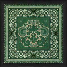Tile 4 Framed Graphic Art