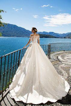 Milla Nova Bridal Wedding Dresses 2017 kristina3 / http://www.himisspuff.com/milla-nova-bridal-2017-wedding-dresses/24/