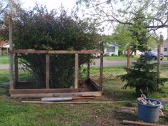 """Reclaimed Wood. I am reusing old scraps of wood to construct a chicken & duck pen and other """"addins""""... Chicken & duck cage/pen 1st. 2nd, a rabbit area that is temporarily a green house. 3rd, a composting bin under the rabbit cage area. 4th a temporary rest area.. 5th.... Who knows!"""