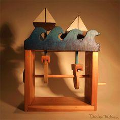 Wooden Cam Toy by Dans-Design