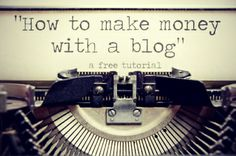 A wealth of information on how to make money by writing articles on your own blog.