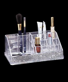 16-Compartment Cosmetic Organizer #zulily #zulilyfinds