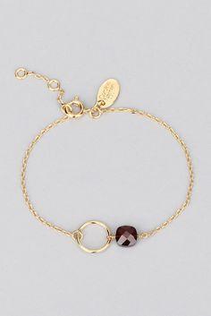 Incredibly Fiji garnet gemstone bracelet - Caroline Najman - Women's Jewelry and Accessories-Women Fashion Handmade Wire Jewelry, Handmade Bracelets, Gemstone Bracelets, Jewelry Bracelets, Silver Bracelets, Silver Jewelry, Prom Jewelry, Bullet Jewelry, Geek Jewelry