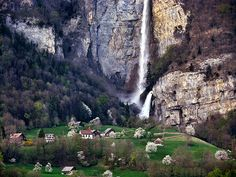 Quinten, Switzerland Wow! Imagine how loud it must be to live there!