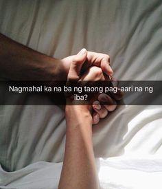 'Di ko alam na may jowa na haha Tagalog Quotes Hugot Funny, Memes Tagalog, Hugot Quotes, Funny Quotes, Crush Quotes, Love Quotes, Filipino Quotes, Quotations, Qoutes