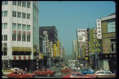 1980年代的衡陽路。