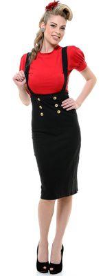 High waisted pencil skirt! @Veronica Gomez