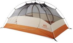 High in livability and low in cost, the REI Co-op Passage 2 is a 3-season tent for 2 that sets up easily and features 2 doors, each with its own vestibule, for easy access and ample storage space. Available at REI, 100% Satisfaction Guaranteed.