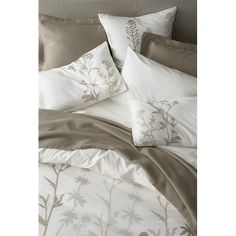 Woodland Bed Linens in Duvet Covers | Crate and Barrel