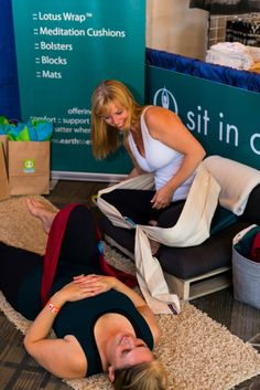 hard work happening over at the Earth to Ethers booth Meditation Cushion, Yoga Meditation, Yoga Props, Whistler, Hard Work, Lotus, Wanderlust, Earth, Shit Happens