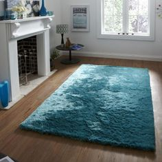 Alfombra Sable de 120x170cm de OCR, verde azulado | ACHICA