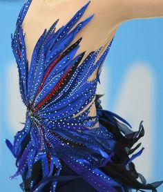"lovingymnastics: "" Costume Details - Mao Asada """