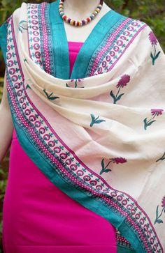 Stunning Tussar Silk Dupatta