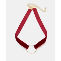 Plus Size Open Circle Velvet Choker Necklace ❤ liked on Polyvore featuring jewelry, necklaces, circle pendant necklace, velvet necklace, choker necklace, velvet jewelry and velvet choker necklace