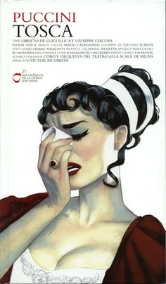 Tosca | Opera Cover by Fernando Vicente, via Behance