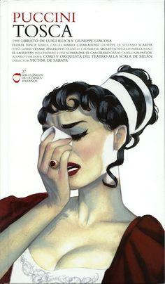 Tosca | Opera Cover by Fernando Vicente, via Behance