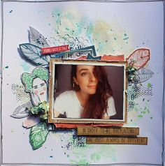 """Young Wild and Free Kaisercraft """"Boho Dreams"""" Collection by Kylie Cornish Scrapbook Journal, Scrapbook Page Layouts, Scrapbook Pages, Scrapbooking Ideas, Anna Craft, Smash Book Pages, Craft Cupboard, Memory Books, Wild And Free"""
