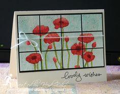 FM163 Watercolored Poppies by RunningwScissorsStamper, Stampin' Up!, Pleasant Poppies, Endless Birthday Wishes