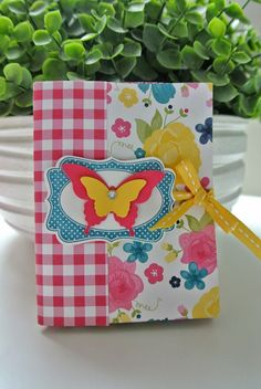 Cards and Scrapping Gingham Garden Stampin Up mini album