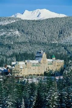 Chateau Whistler Fairmont, Whistler BC... go and love it! Amazing retreat