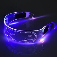 LED Glasses Neon Party Luminous Light
