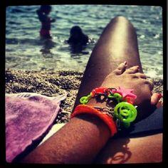 Chanel bracelet, loot of colours Chanel Bracelet, Colours, Bracelets, Bracelet, Arm Bracelets, Bangle, Bangles, Anklets