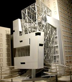 Free Section by Gideon Kwon Architecture Model Making, Architecture Board, Architecture Student, Parasitic Architecture, Arch Model, Architecture Graphics, Facade Design, House Layouts, Architect Design