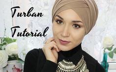 TURBAN TUTORIAL | V FOLD