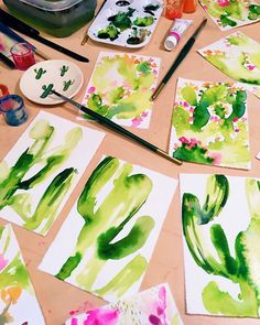 Cactus portraits - Andrea Fairservice