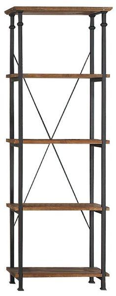 Amazon.com - Homelegance 3228-12 Bookcase Shelves, Brown/Black - Steel Furniture