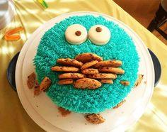 """Le gâteau """"Cookie Monster"""""""