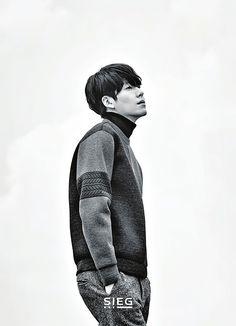 Kim Woo Bin for SIEG F/W 2015