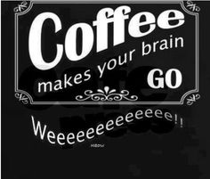 Coffee makes your brain Go...:)  Brought to you by Coffee Lovers Magazine www.coffeeloversmag.com/theMagazine #coffee