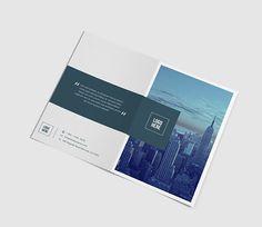 Corporate Bifold Brochure by azadcsstune on @creativemarket