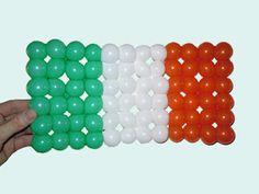 Ireland Flag Balloon Weaving