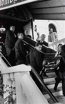 "Albert ""the Mad Hatter"" Anastasia Funeral"