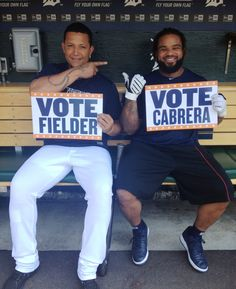 Prince and Miggy have a message for you.