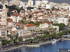 View of Riva (Waterfront) - Split, Croatia