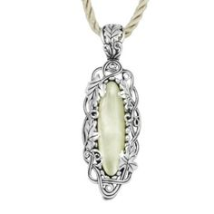 Relios Sterling Silver Citrine Mother of Pearl Pendant Enhancer on Rayon Cord - jewelry coupon stores Bali Jewelry, Gemstone Jewelry, Jewelry Box, Jewelery, Pearl Pendant, Pendant Necklace, Natural Gemstones, Cord, Fashion Jewelry
