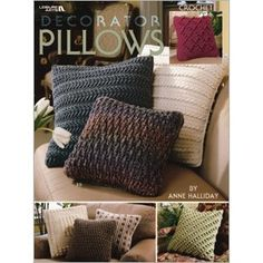 Leisure Arts - Décorator Pillows, $3.99 (http://www.leisurearts.com/products/decorator-pillows.html)