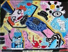 THE ANGRY CAKE, Poete Maudit, outsider art, art brut, expressionism, CANADIAN
