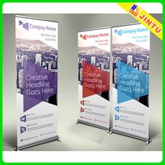 Business Roll-up Banner - Premium Templates **PREMIUM**Business - Roll-Up Banners. You can insert your own brands, images, text to banner. Fi by NEXDesign Banners Web, Vinyl Banners, Roller Banners, Web Banner, Letterhead Template, Brochure Template, Brochure Design, Business Brochure, Business Card Logo