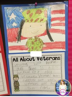 My Silly Firsties: Veterans Day Directed Drawing