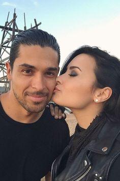 Demi Lovato shows some love for boyfriend Wilmer Valderrama.